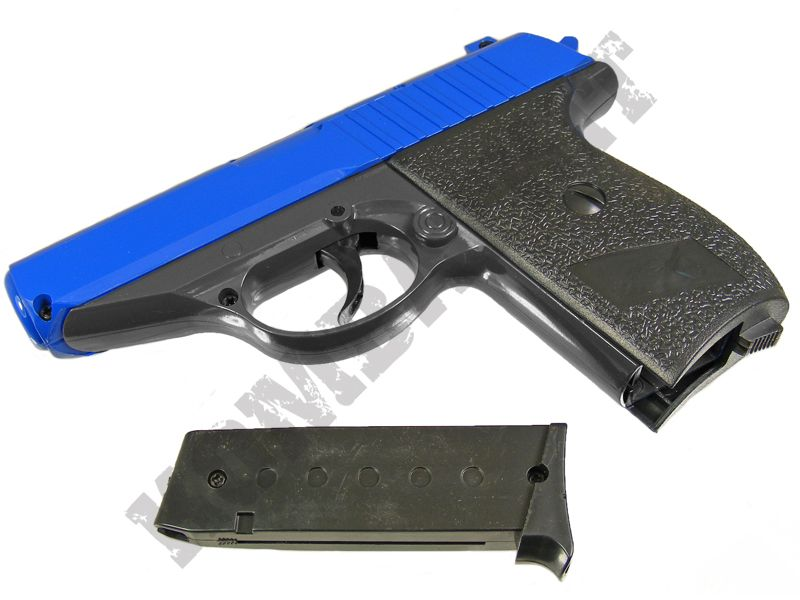 G3 Metal BB Gun | Walther PPK Style Replica Spring Airsoft